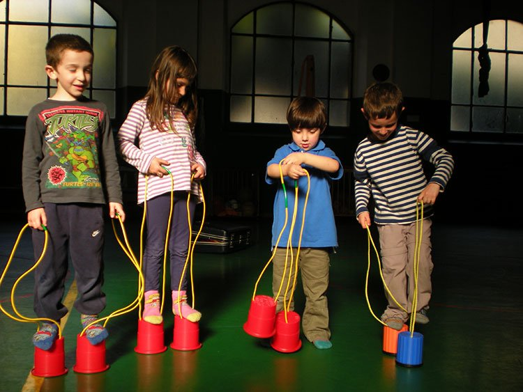 Estremamente Corsi per bambini - Circo Libre FB11