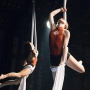 DANZA AEREA (tessuto e trapezio)
