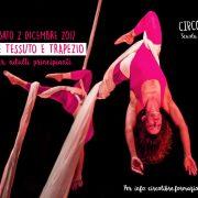 WORKSHOP TESSUTO E TRAPEZIO (liv. principiante) – 2/12/2017