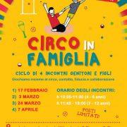 """24 marzo 2018 – Progetto """"CIRCO IN FAMIGLIA"""" 2018"""