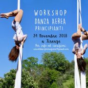 24/11/18 WORKSHOP DANZA AEREA PRINCIPIANTI