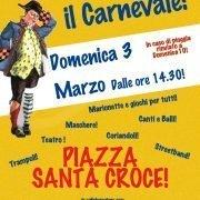 3/03/19 CARNEVALE IN PIAZZA S.CROCE A FIRENZE