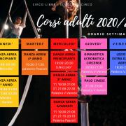 CALENDARIO CORSI ANNUALI 2020/21