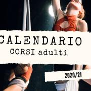 CALENDARIO CORSI ADULTI 2020/21