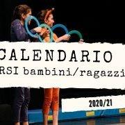 Calendario corsi bambini e ragazzi 2020/21