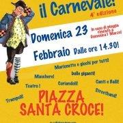 23/02/20 – Circo Libre al Carnevale di S.Croce, Firenze